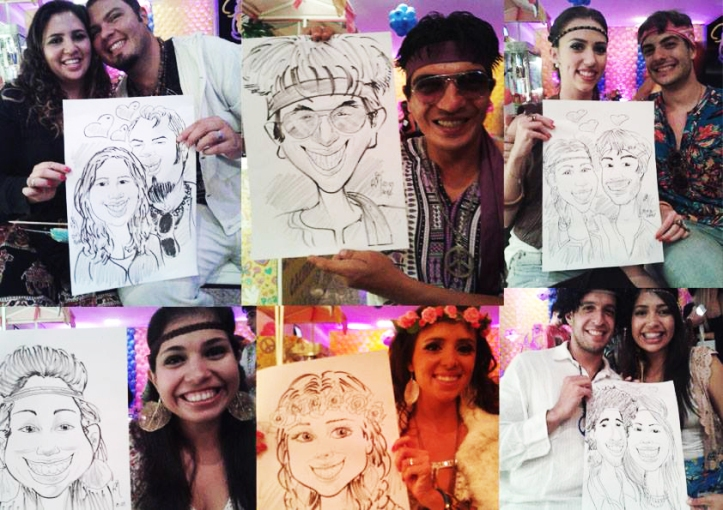 Caricaturas_Evento