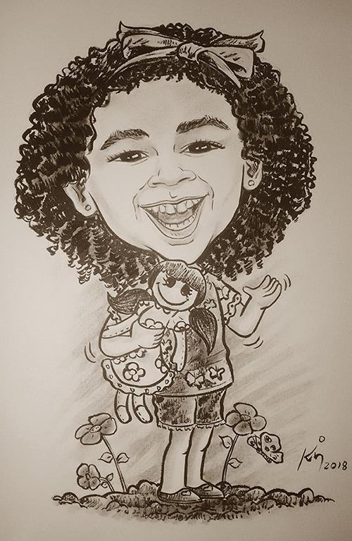 Caricatura_Criança